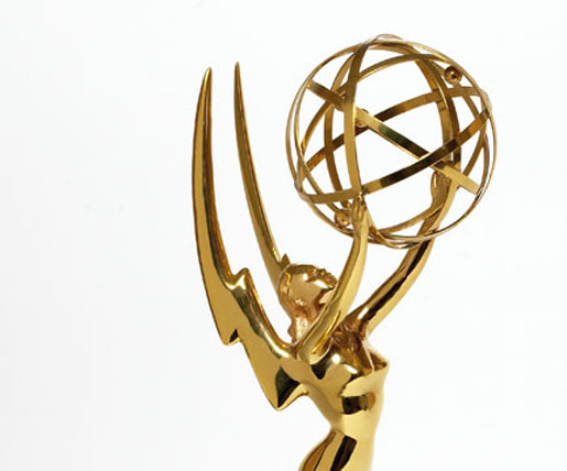 Nominated for an Emmy… how weird is that?
