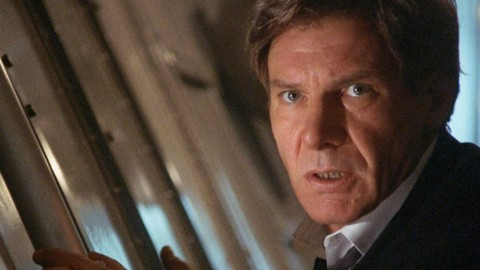 Harrison Ford as the President in 'Air Force One'.