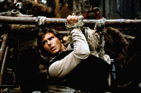 Harrison Ford as Han Solo in 'Star Wars: Episode VI - Return of the Jedi'.