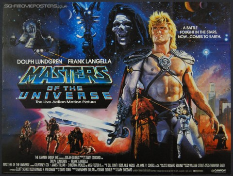 'Master of the Universe' (1987) movie poster.